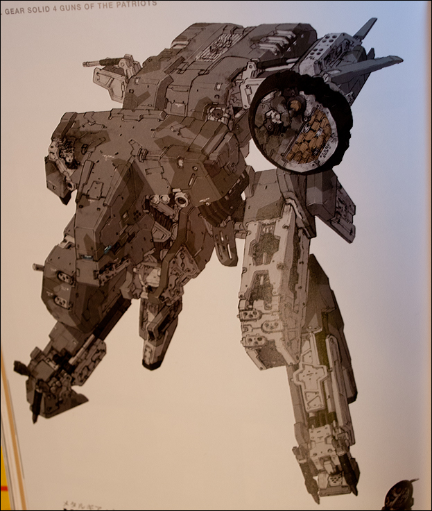 Metal Gear Rex Drawing