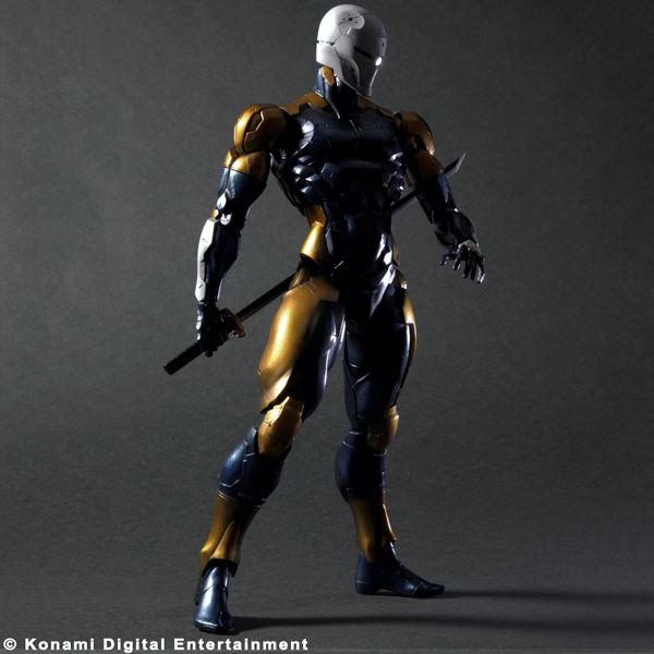Gray Fox 25th Anniversary Square Enix Shop With Blade