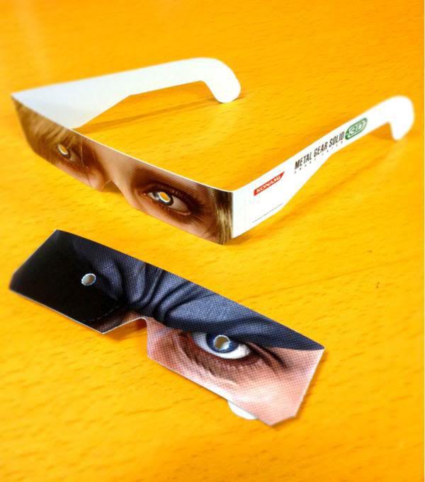 MGS-Snake-Eater-3D-Paper-Glasses-2
