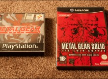 MGS1 Original versus vs Remake The Twin Snakes Comparison