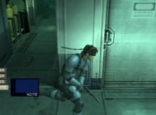 MGS Metal Gear Solid 2 HD Collection Vita Screen