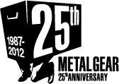 Metal Gear 25th Anniversary Logo