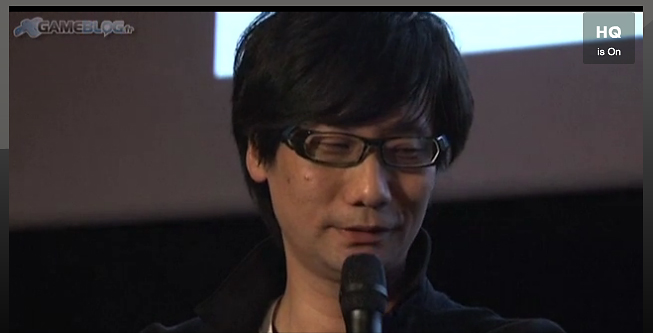 Kojima Interview Paris
