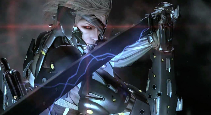 Metal Gear Rising Title Screen E3 2012
