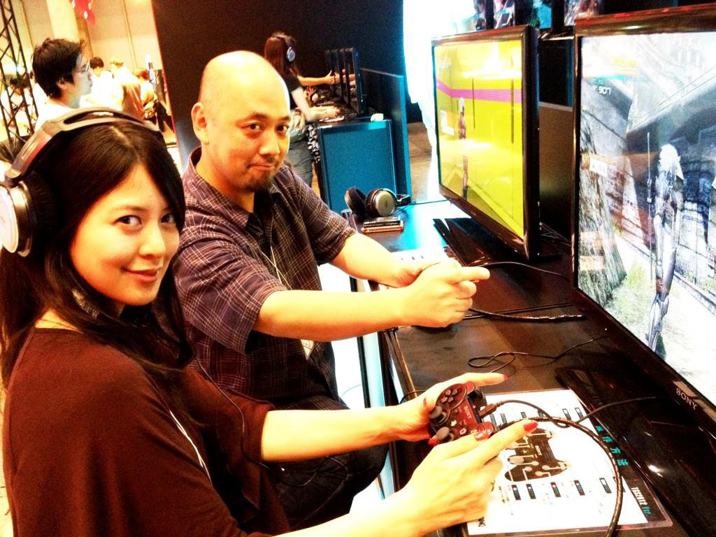 Yumi-Playing-Rising-TGS