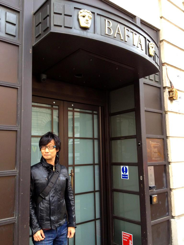 Hideo-Kojima-at-BAFTA