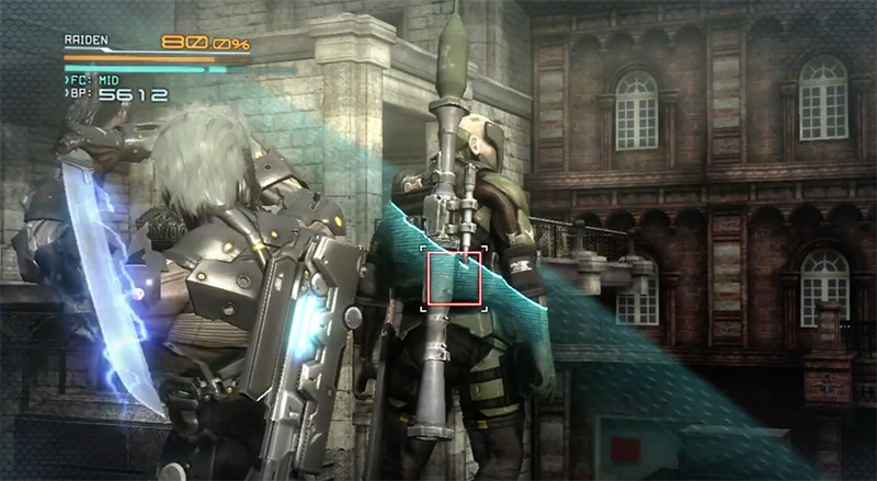 new metal gear rising videos from the japanese demo