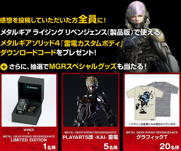 Metal-Gear-Rising-Promo-Prizes