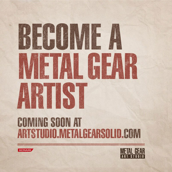 Become-a-Metal-Gear-Artist