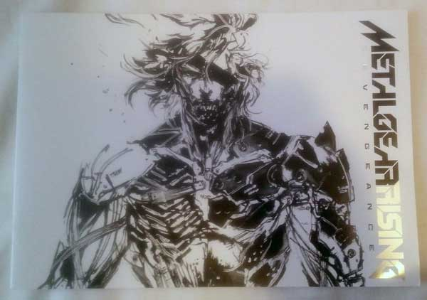 Metal-Gear-Rising-Artbook-Front
