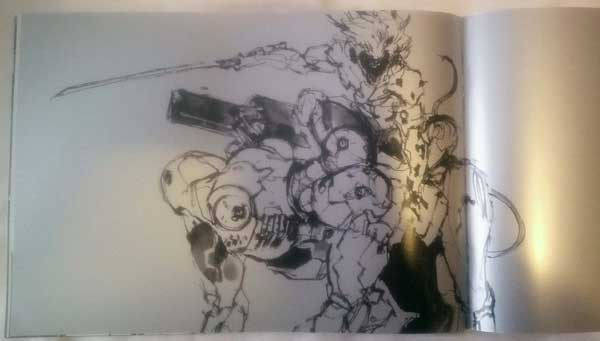 Metal-Gear-Rising-Artbook-Raiden-and-wolf