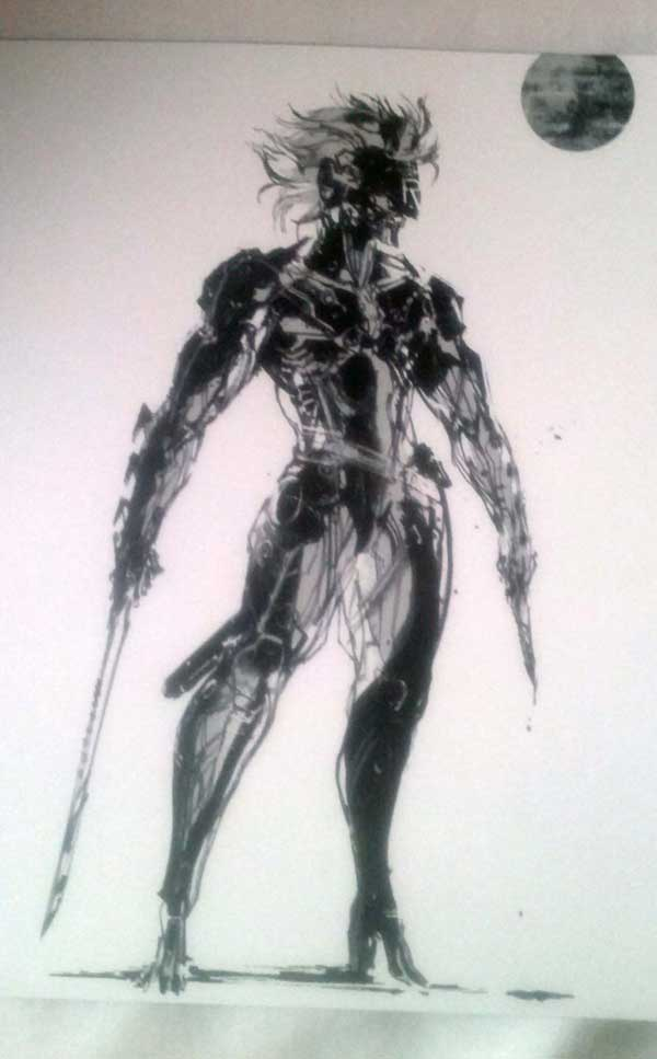 Metal-Gear-Rising-Artbook-Raiden-standing