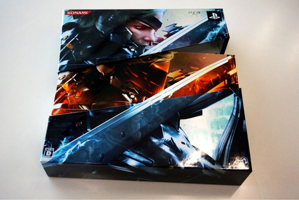 Metal-Gear-Rising-Japanese-Limited-Edition-Open