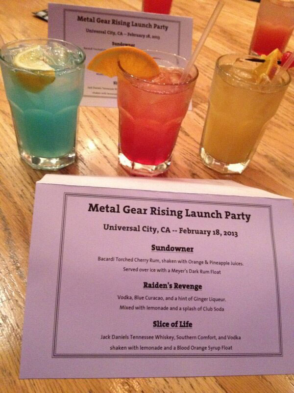 Metal-Gear-Rising-Launch-Event-LA-Drinks