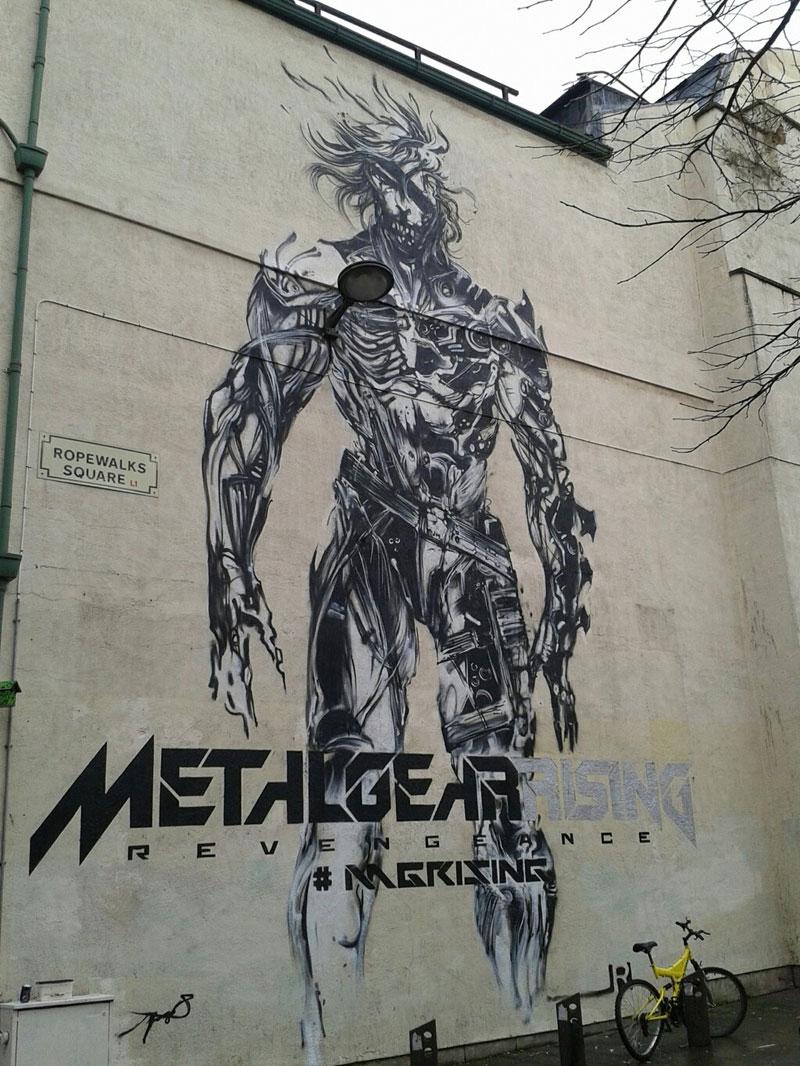 Metal-Gear-Rising-Mural-Complete