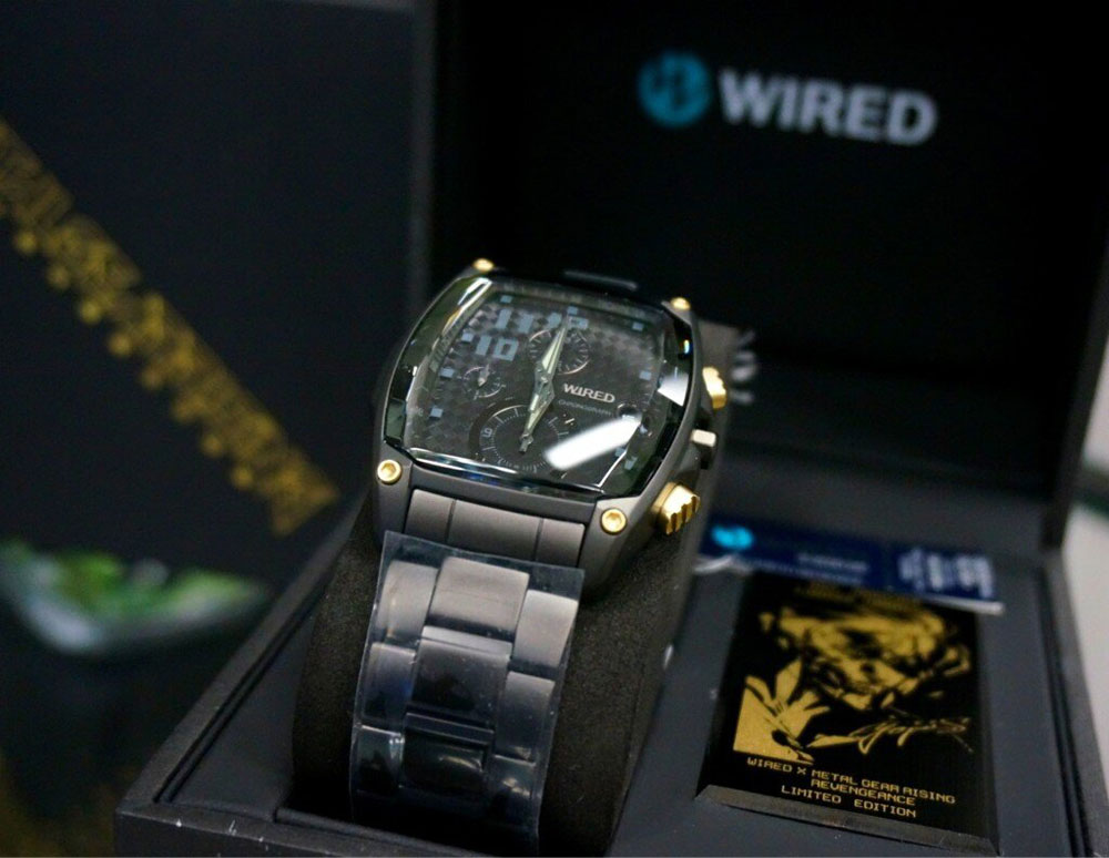 Watch Top Gear Online >> Take a look at the Metal Gear Rising Wired Watch, guide ...