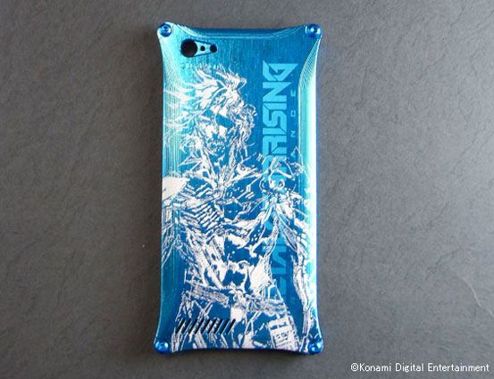 Metal-Gear-Rising-iPhone-5-Case-Blue-2