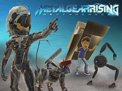 Metal-Gear-Rising-Avatar-Items