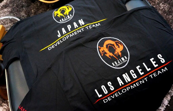 Kojima-Productions-Development-Team-T-Shirts