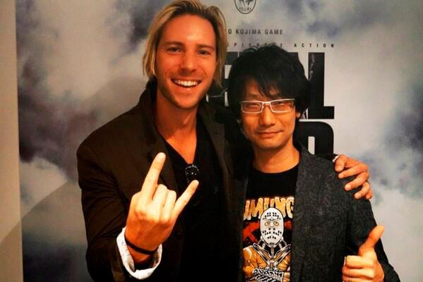 E3-2013-Kojima-Troy-Baker