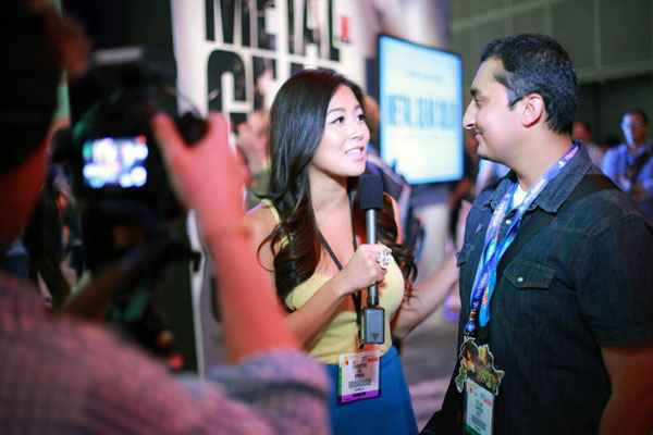 E3-2013-Konami-Booth-Interview-2