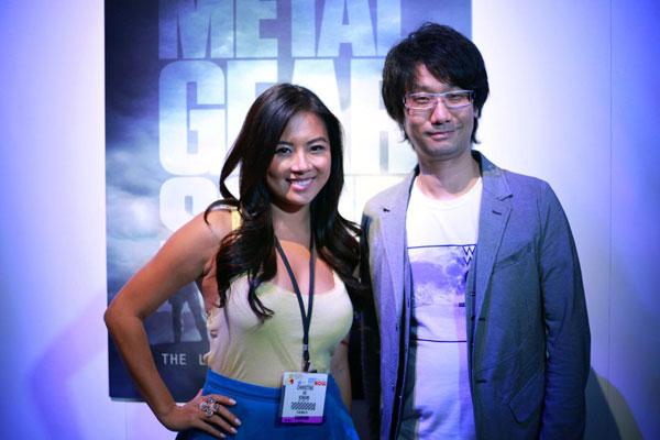 E3-2013-Konami-Booth-Kojima-and-Christine-Ko