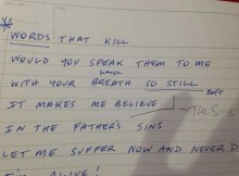 Sins-of-the-Father-Lyrics-Notes