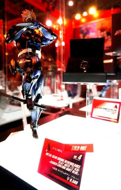 Hide-Kojima-TGS-Blue-Raiden-Figure