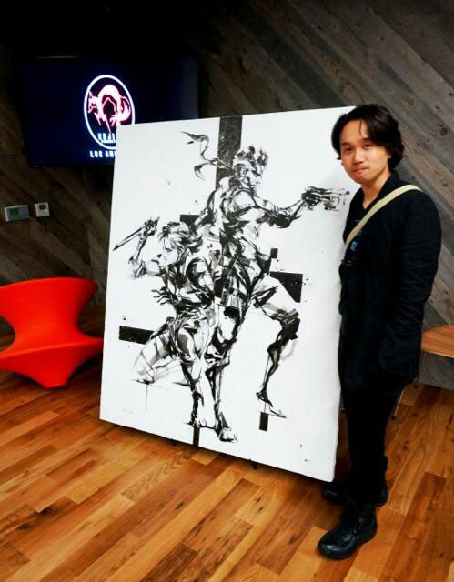 Kojima-Productions-Los-Angeles-Shinkawa-Painting