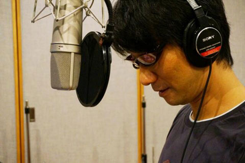 Kojima-Voice-Over-Recording
