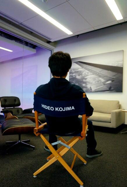 Kojima-Productions-LA-Director-Chair