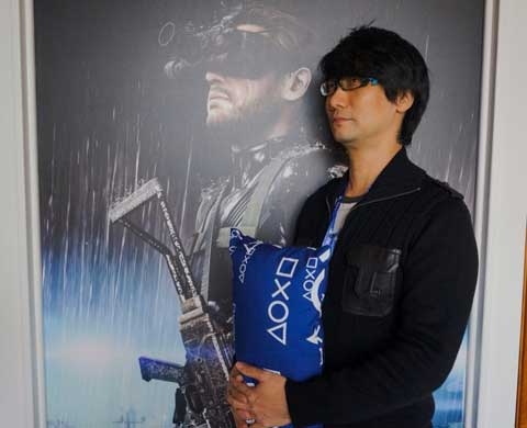 Kojima-NY-Interviews-MGSV-Kojima-Holding-Pillow