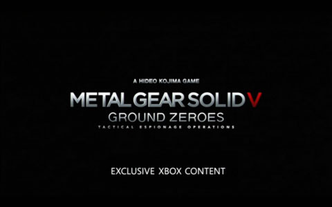 Metal-Gear-Solid-V-Ground-Zeroes-Xbox-Exclusive-Content