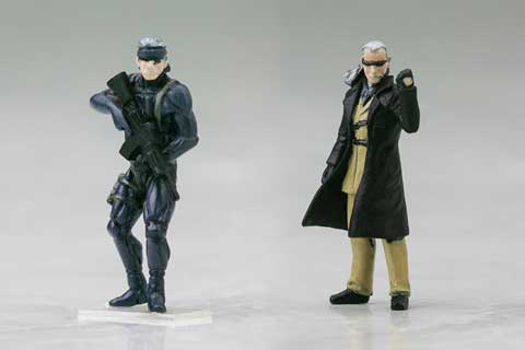Kotobukiya-Metal-Gear-RAY-Old-Snake-Liquid-Ocelot