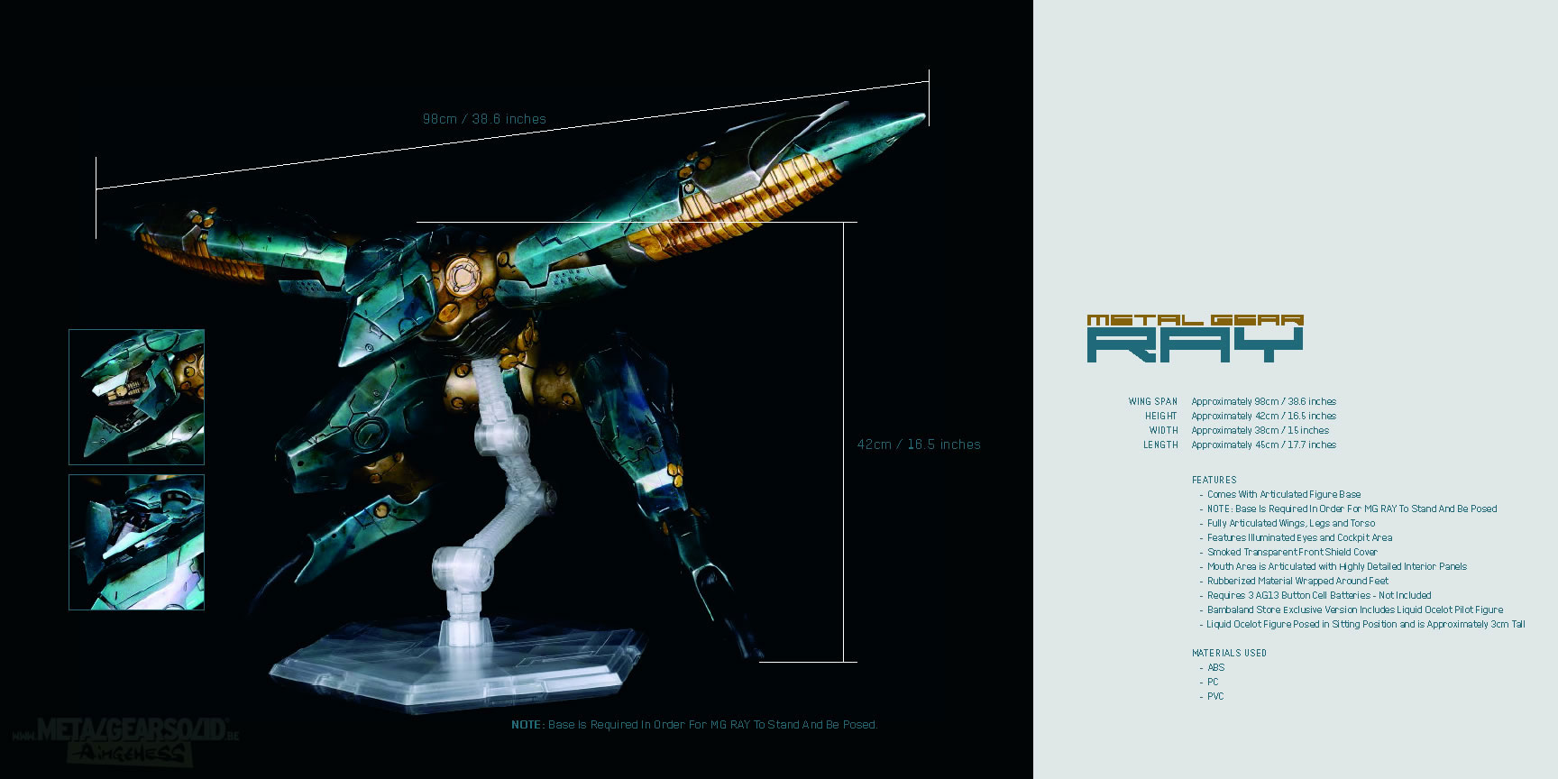 Metal-Gear-Ray-ThreeA-Specs