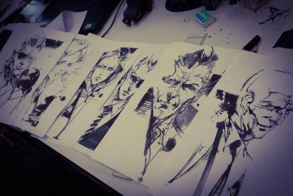 Yoji-Shinkawa-Peace-Walker-Art