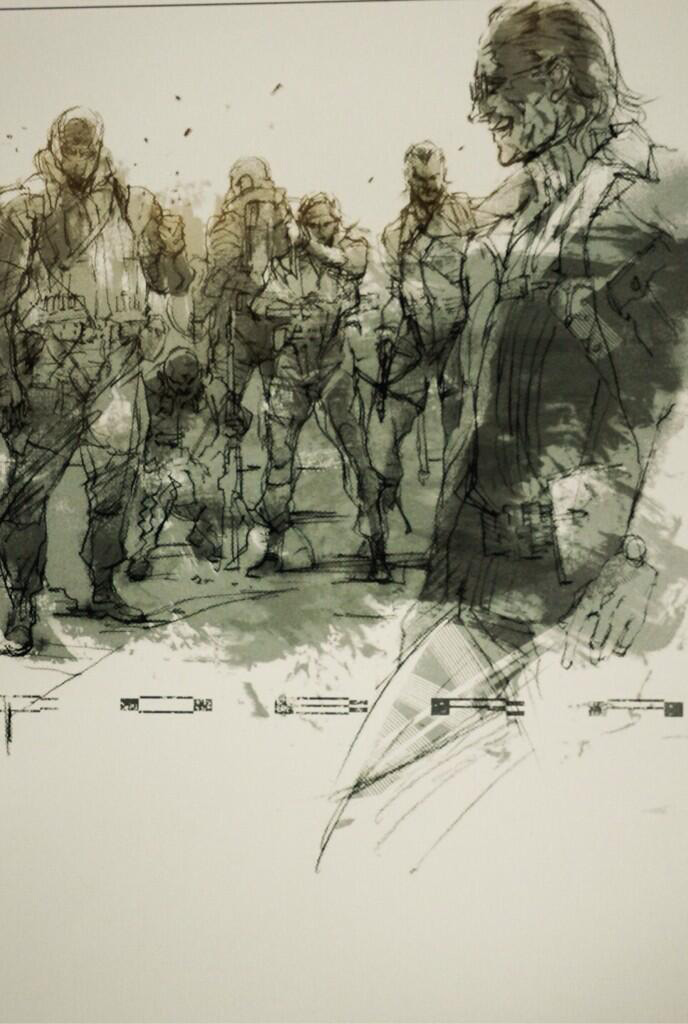 MGS-GZ-LE-Peace-Walker-Novel-Cobra-Unit-Art