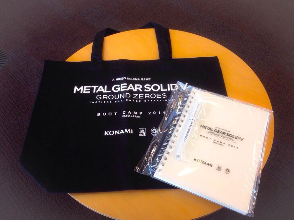 MGS-GZ-Boot-Camp-2014-Items