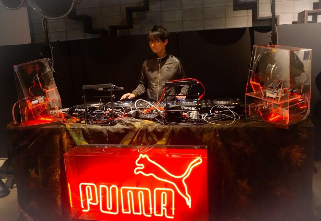 MGS-Puma-Press-Event-Kojima-DJ