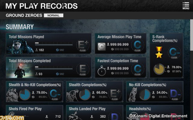 MGSV-GZ-Companion-App-Play-Records