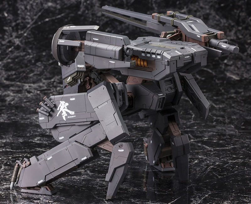 Metal-Gear-Rex-Black-Version-Kotobukiya-Back