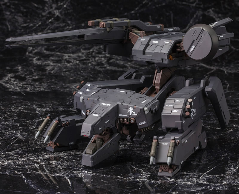 Metal-Gear-Rex-Black-Version-Kotobukiya-Moveable