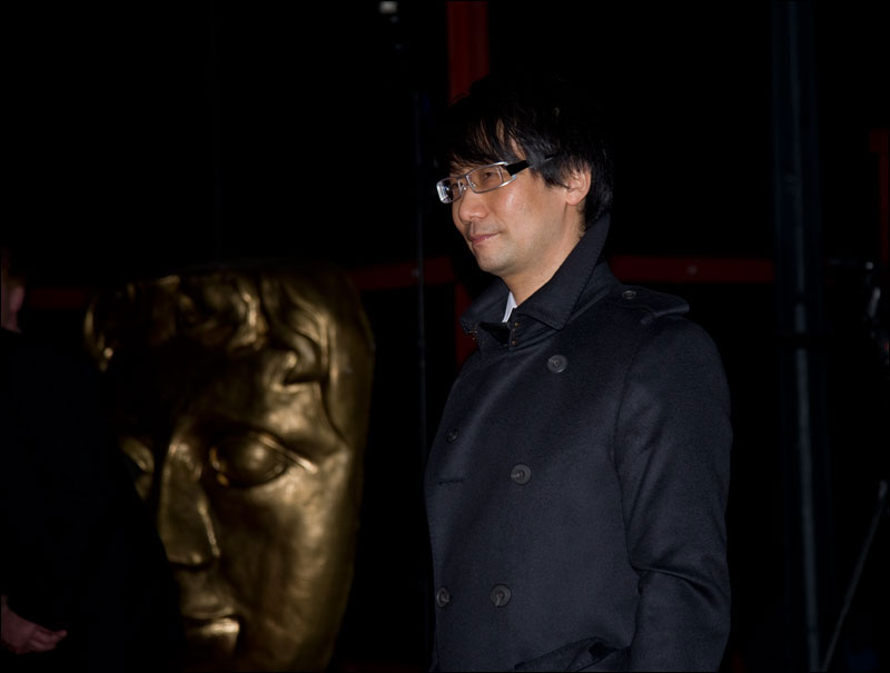 BAFTA-Inside-Games-GZ-Kojima-Red-Carpet