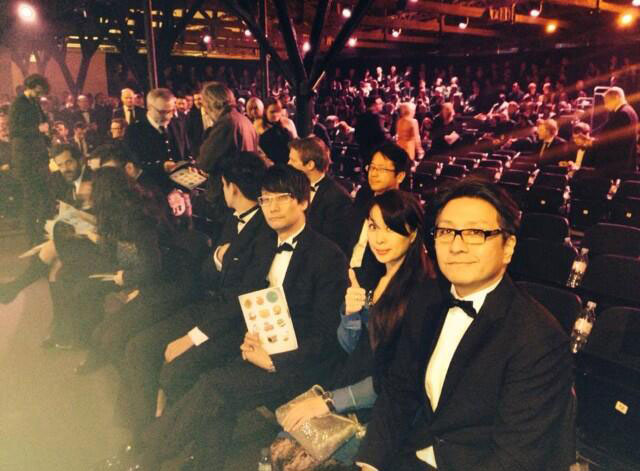 Kojima-London-2014-BAFTA-Awards-Crowd