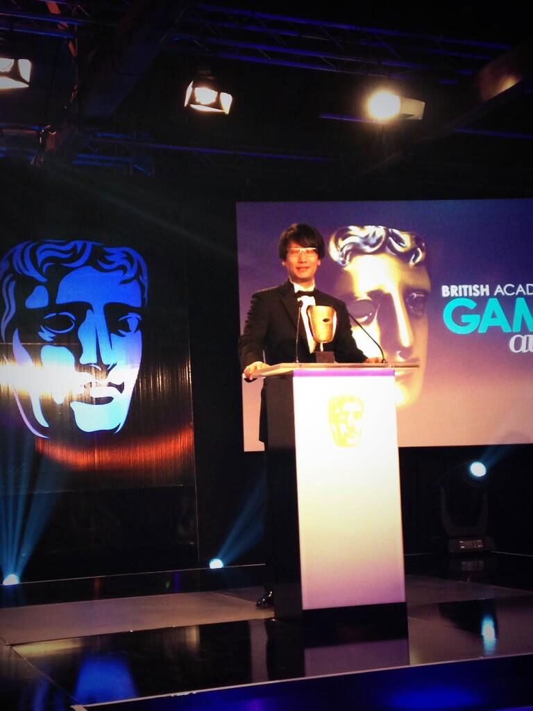Kojima-London-2014-BAFTA-Awards-Presentation