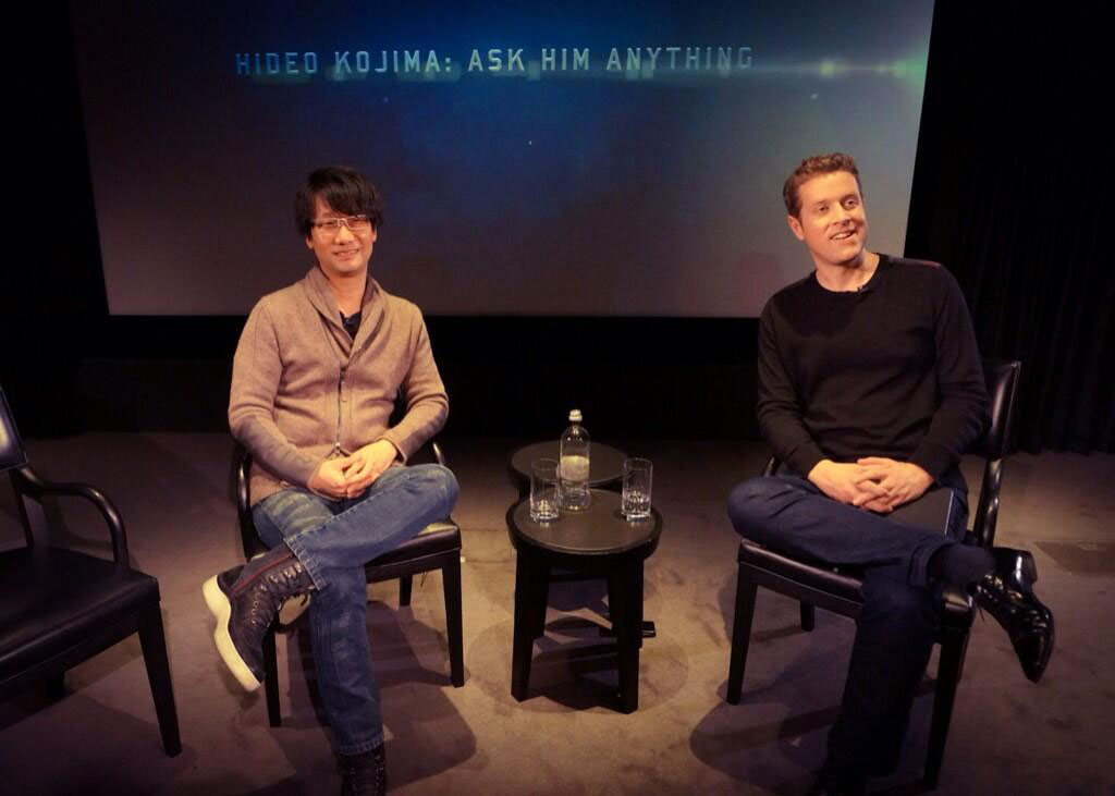 Kojima-London-2014-Geoff-Keighley-Interview