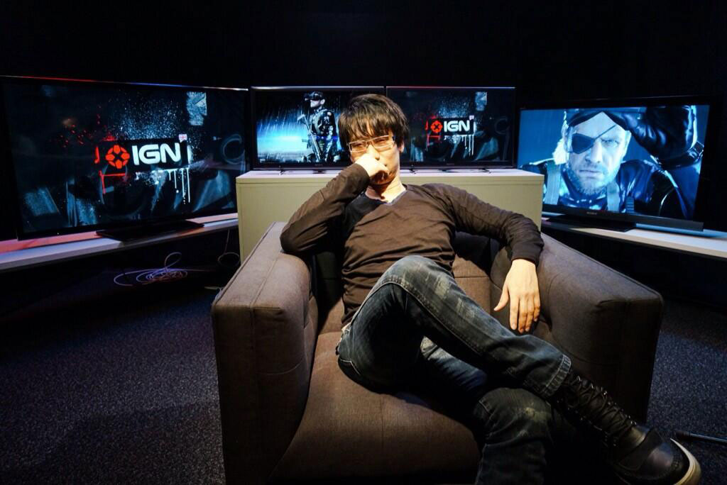 Kojima-London-2014-IGN-Interview