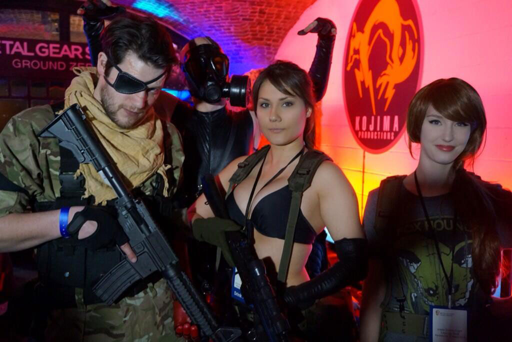 Kojima-London-2014-Inside-Games-Cosplayers