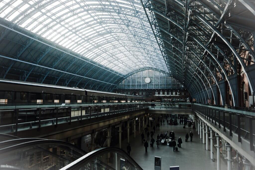 Kojima-London-2014-Train-Station