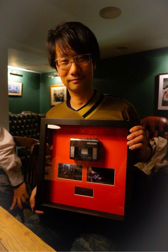 Kojima-London-2014-Walkman